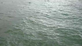 Ondulations de l'eau sur l'eau banque de vidéos