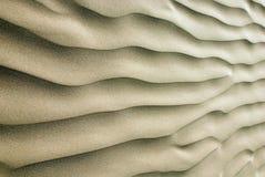 Ondulations de sable Photos libres de droits