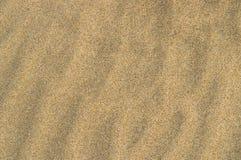 Ondulations de sable Image libre de droits