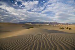 Ondulations sur des dunes de sable Photos libres de droits