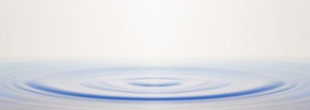 Ondulazione dell'acqua fotografia stock