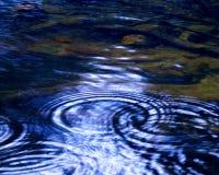 Ondulazioni del fiume Fotografia Stock Libera da Diritti