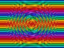 Ondulazioni del Rainbow royalty illustrazione gratis