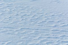 Ondulazioni della neve fotografie stock libere da diritti