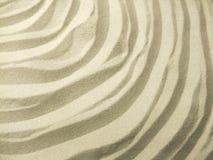 Ondulazioni della sabbia fotografie stock