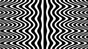 Ondulez le modèle numérique d'écoulement, tournant l'illusion optique banque de vidéos