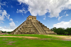 One of 7 New Wonders in Mexico royalty free stock photos