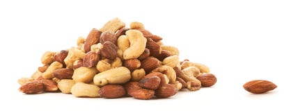 One Almond Apart Royalty Free Stock Image