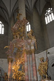 One of the Altars of the Cathedral or Dom of Salzburg in Austria Stock Photos