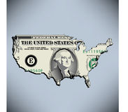 One American Dollar Stock Photography