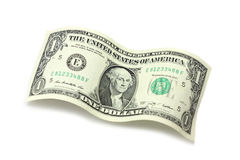 One American dollar Royalty Free Stock Photos