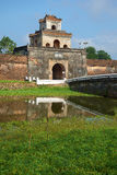 One of ancient gate with a bastion of a citadel of the city of Hue Stock Photo