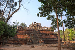 One of ancient temples in sacred city Angkor Stock Photo