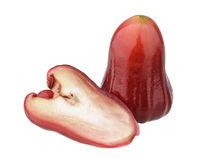 Free One And A Half Of Red Rose Apples Royalty Free Stock Photos - 18701148