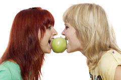 One apple Royalty Free Stock Images