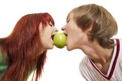 One apple stock image