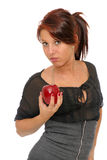 One apple a day Royalty Free Stock Photo
