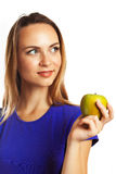 One apple a day keeps doctor away Stock Image