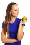 One apple a day keeps doctor away Stock Photography