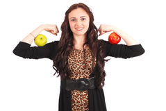 One Apple a day keeps the doctor away Stock Image