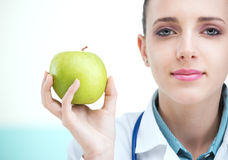 One apple a day Stock Image