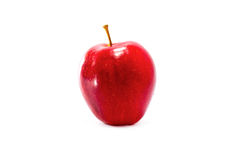 One apple red Royalty Free Stock Images