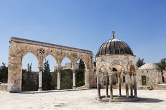 Temple Mount Entrance Royalty Free Stock Image