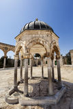 Dome of the Rock Yard Structure Royalty Free Stock Image