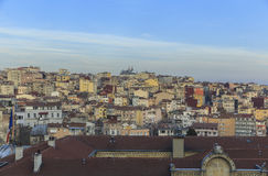 One of the areas of Istanbul Royalty Free Stock Photo