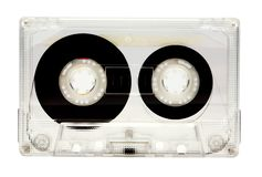 One audio cassette Royalty Free Stock Photo