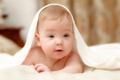 One  baby girl Royalty Free Stock Photo