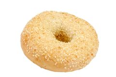 One bagel Royalty Free Stock Images
