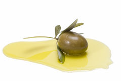 One barrancabermeja olive. Royalty Free Stock Photo