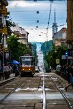 Sofia streets during the summer Stock Photos