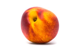 One beautiful juicy nectarine Stock Photography