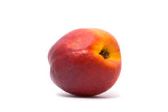 One beautiful juicy nectarine Royalty Free Stock Photography