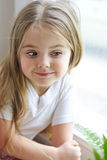 The one beautiful little girl Stock Photo