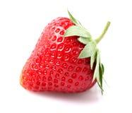 One beauty strawberry Stock Photo