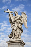 Ponte Sant'Angelo Angel Royalty Free Stock Photography