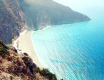 One of the best beaches of Europe, Myrtos Stock Photography