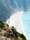 One of the best beaches of Europe, Myrtos Stock Image