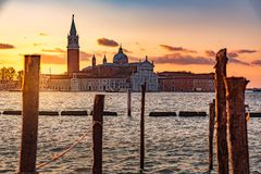 Landscape in Venice Italy stock images