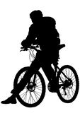 One bicycle Royalty Free Stock Photos