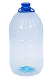 One big bottles of water (Clipping path) Royalty Free Stock Images