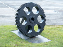 One big cogwheel to use in a machin Royalty Free Stock Photo