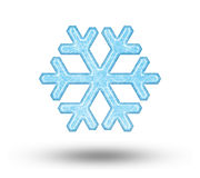 One big snowflake Stock Photos