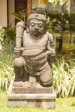 One big stone guard, Sanur, Bali, Indonesia Stock Images