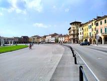 Padua`s `Prato della Valle` square  Italy royalty free stock photo