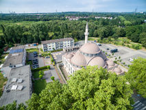 One of the biggest mosques in Germany under the sun Stock Photo