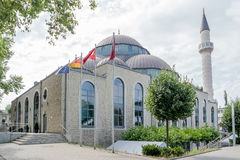 One of the biggest mosques in Germany under the sun Stock Images